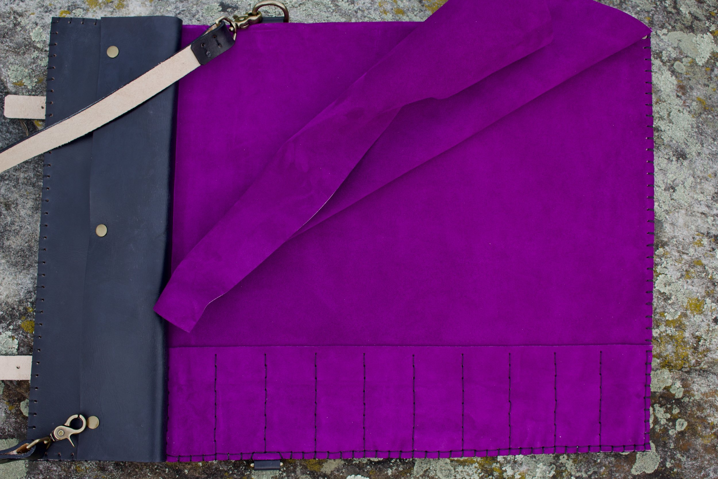 Bear and Sax Knife Roll for Chef 13.jpg