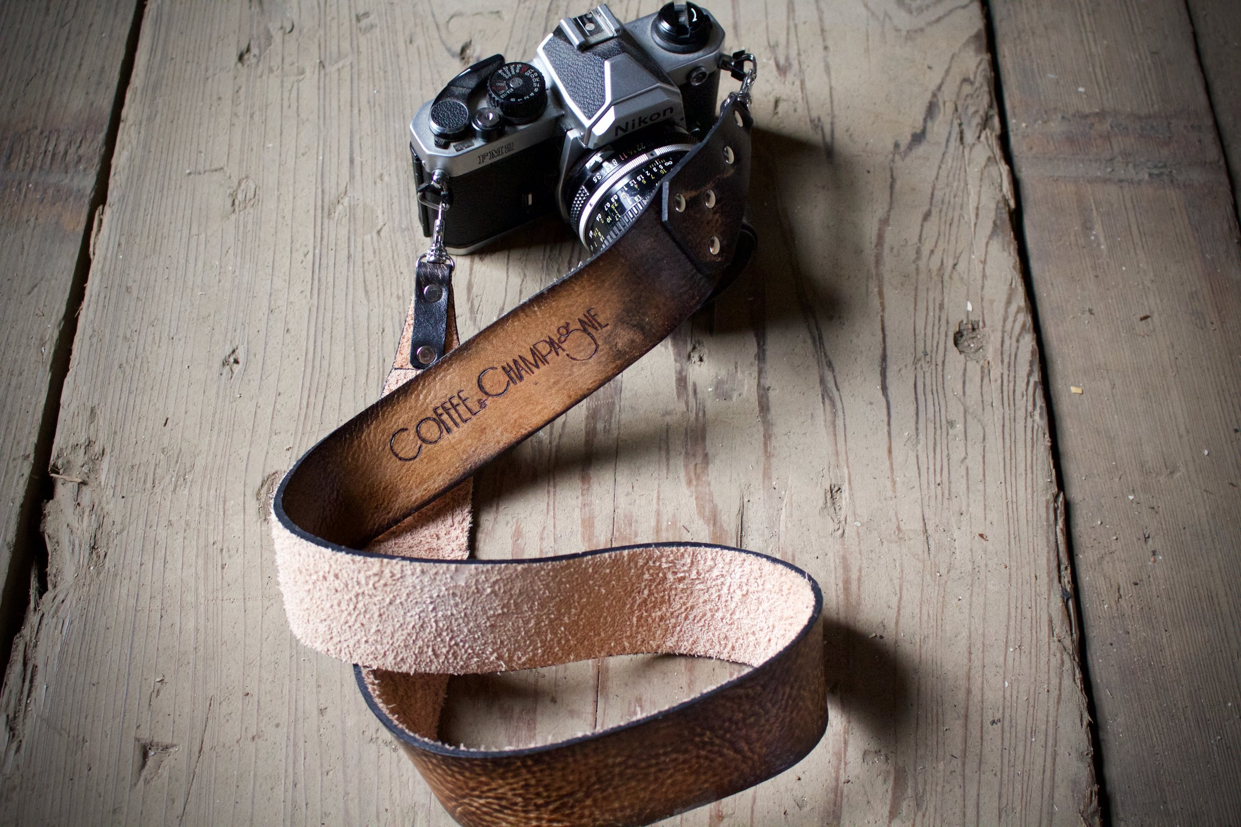 Coffee and Champagne Camera Strap 1.jpg