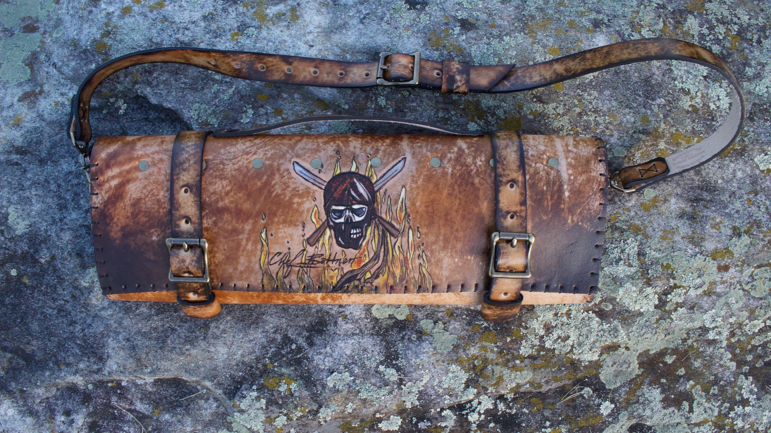 Ninja Skull Knife Roll 1.jpg