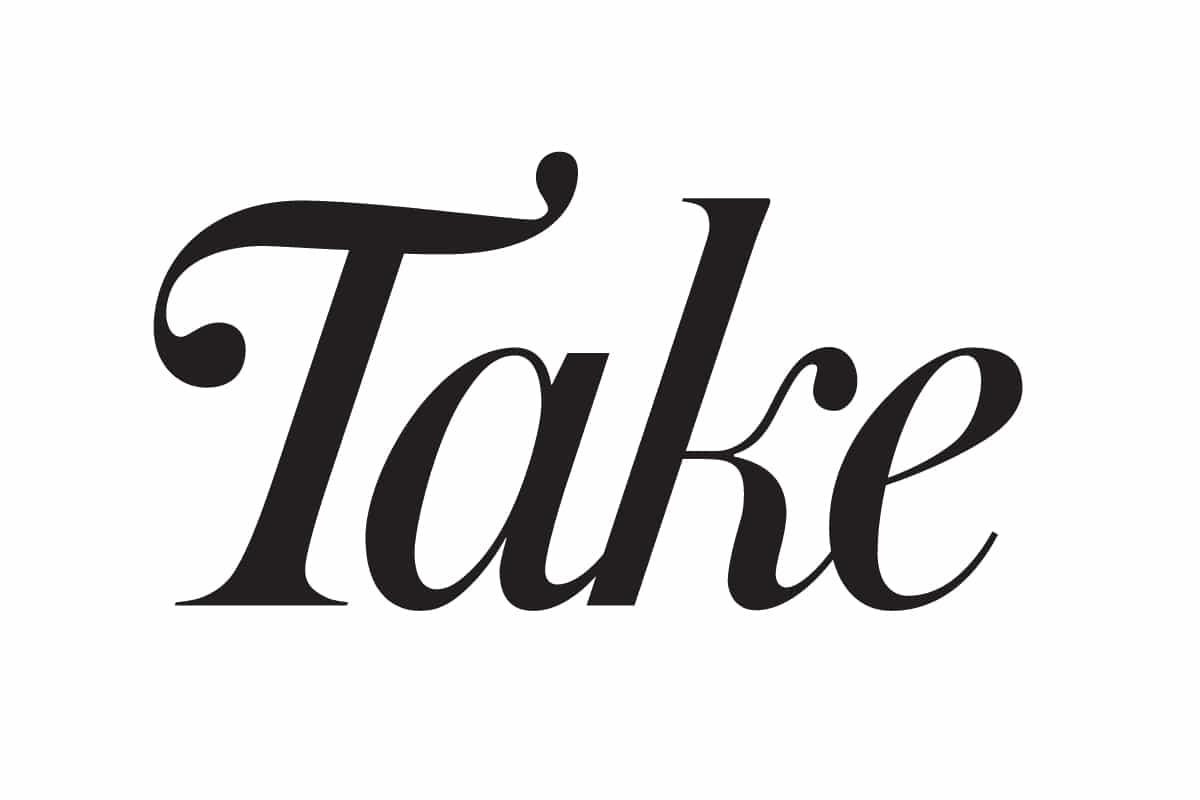 take magazine