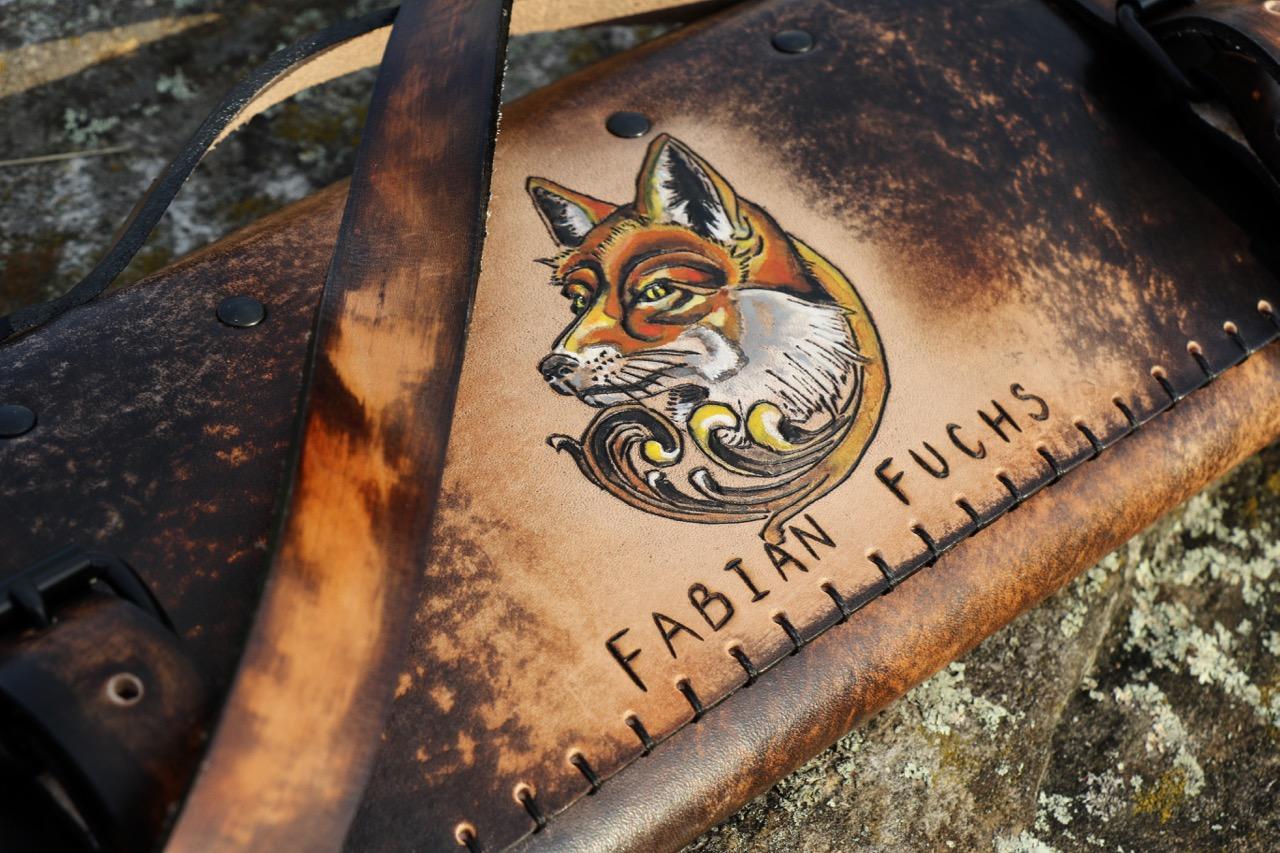 Dark Leather Knife Roll Fox Roll 4.jpg