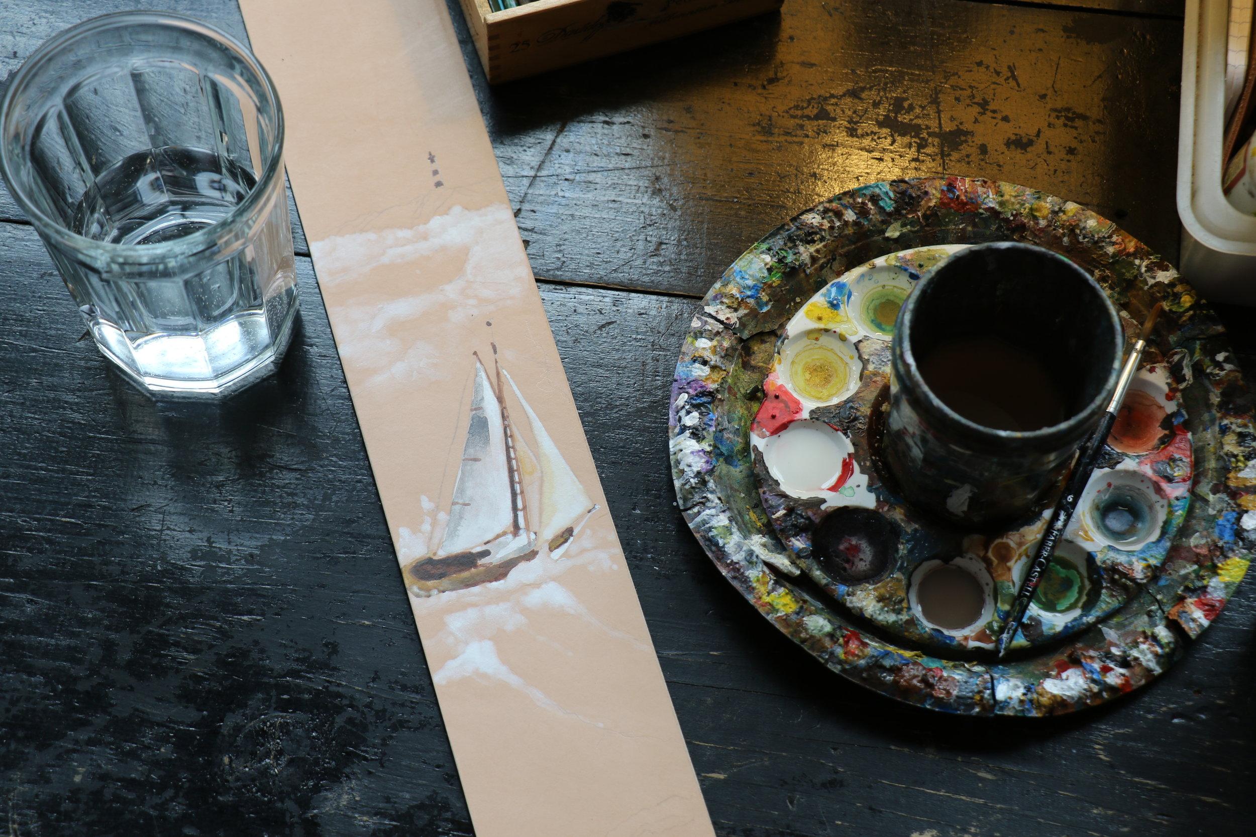 Sailboat strap