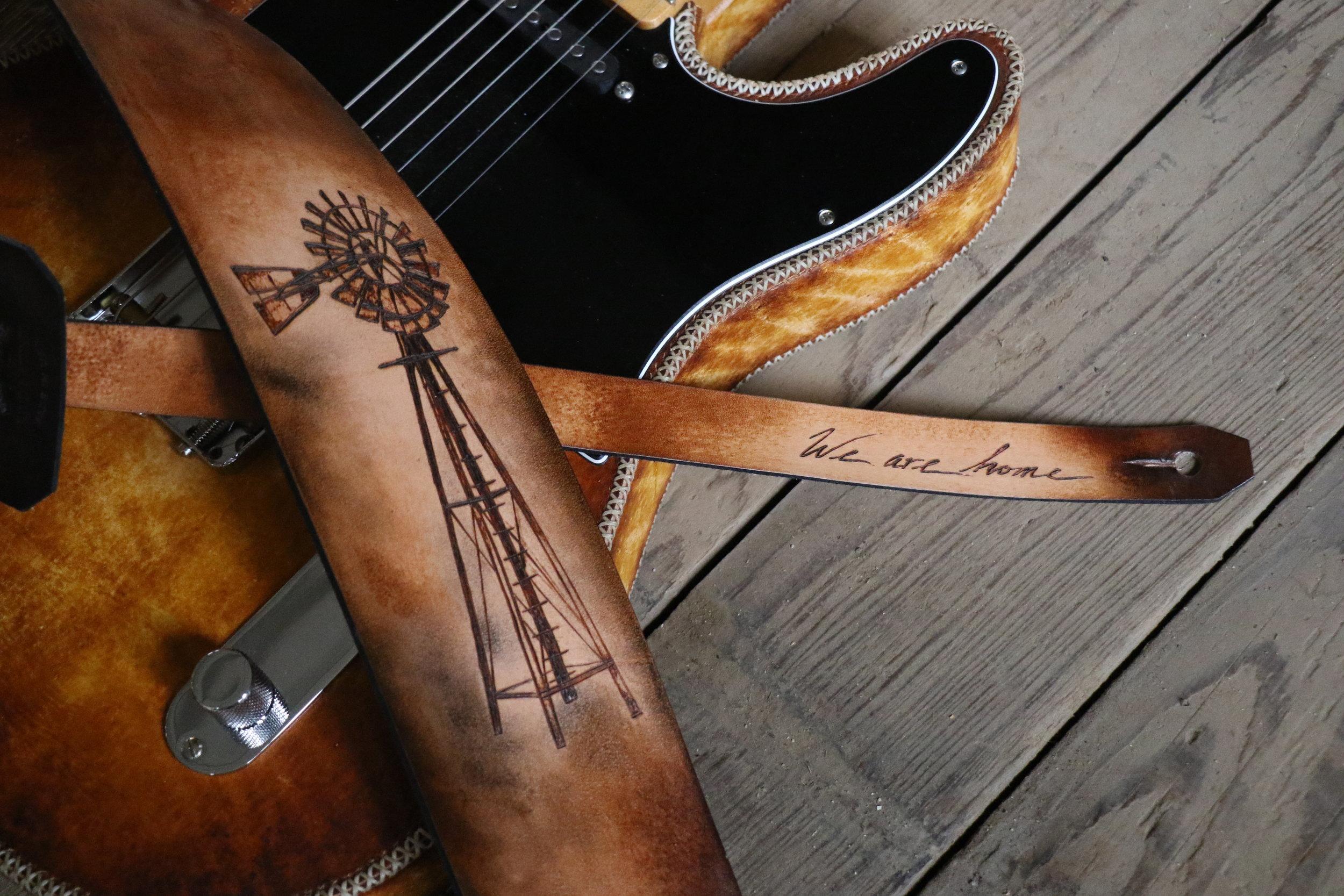 Windmill Guitar Strap
