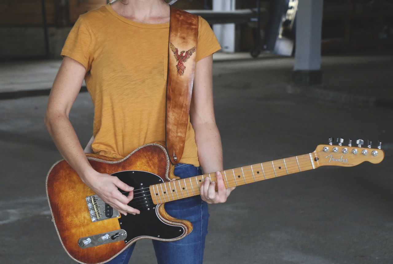 Phoenix Guitar Strap