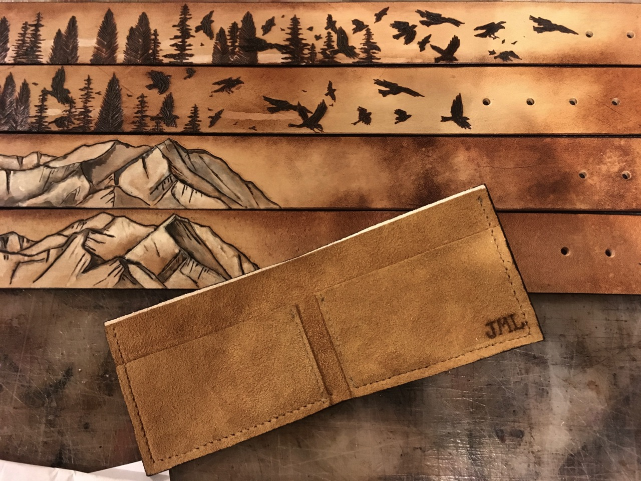 mountain wallet