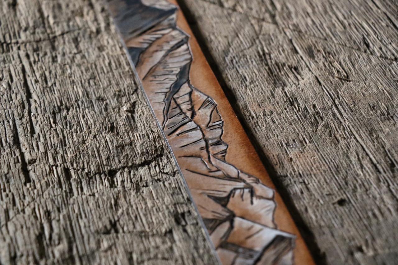 Tooled Mountain Belt LLTB  by Linny Kenney