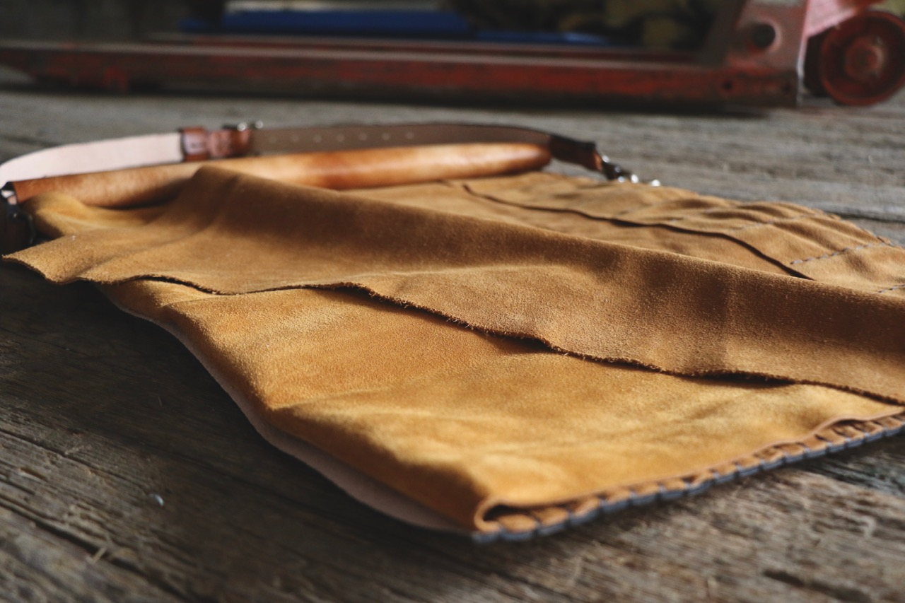 Duck Knife Roll for chef by Linny Kenney