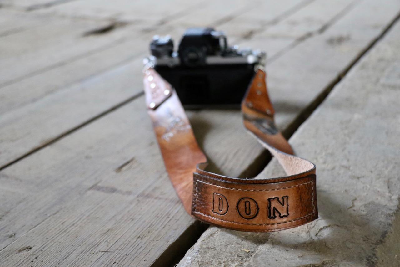 Deer and Horse Camera Strap