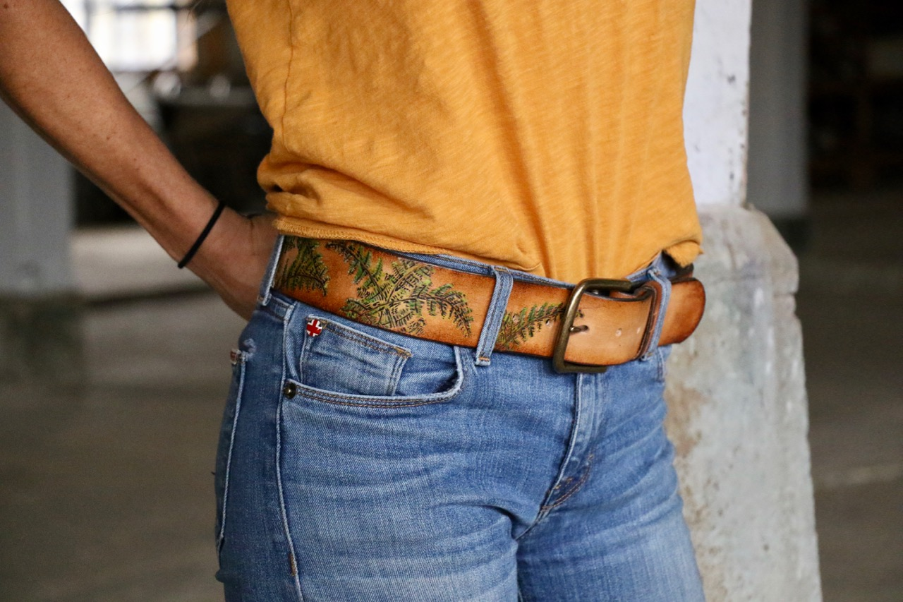 Fern Belt by Linny Kenney
