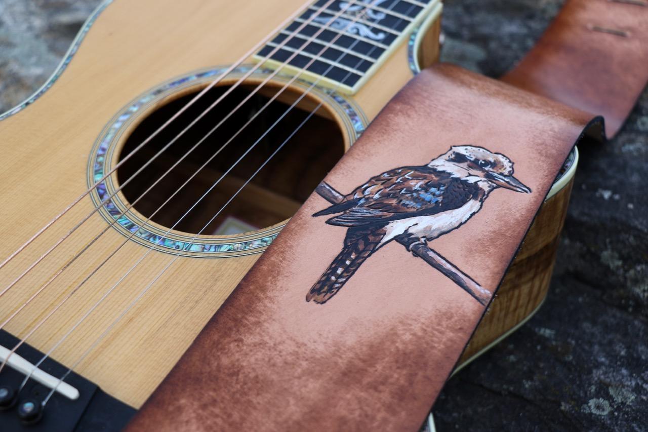 Kookaburra Guitar Strap