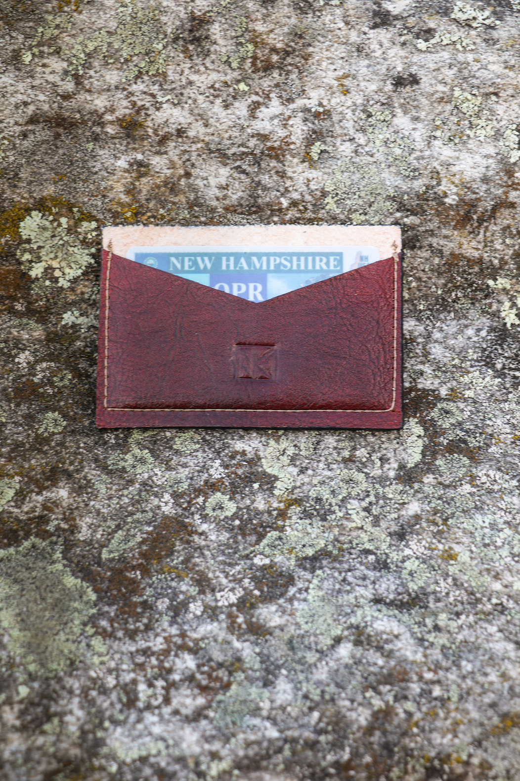 Leather Card Wallet by Linny Kenney