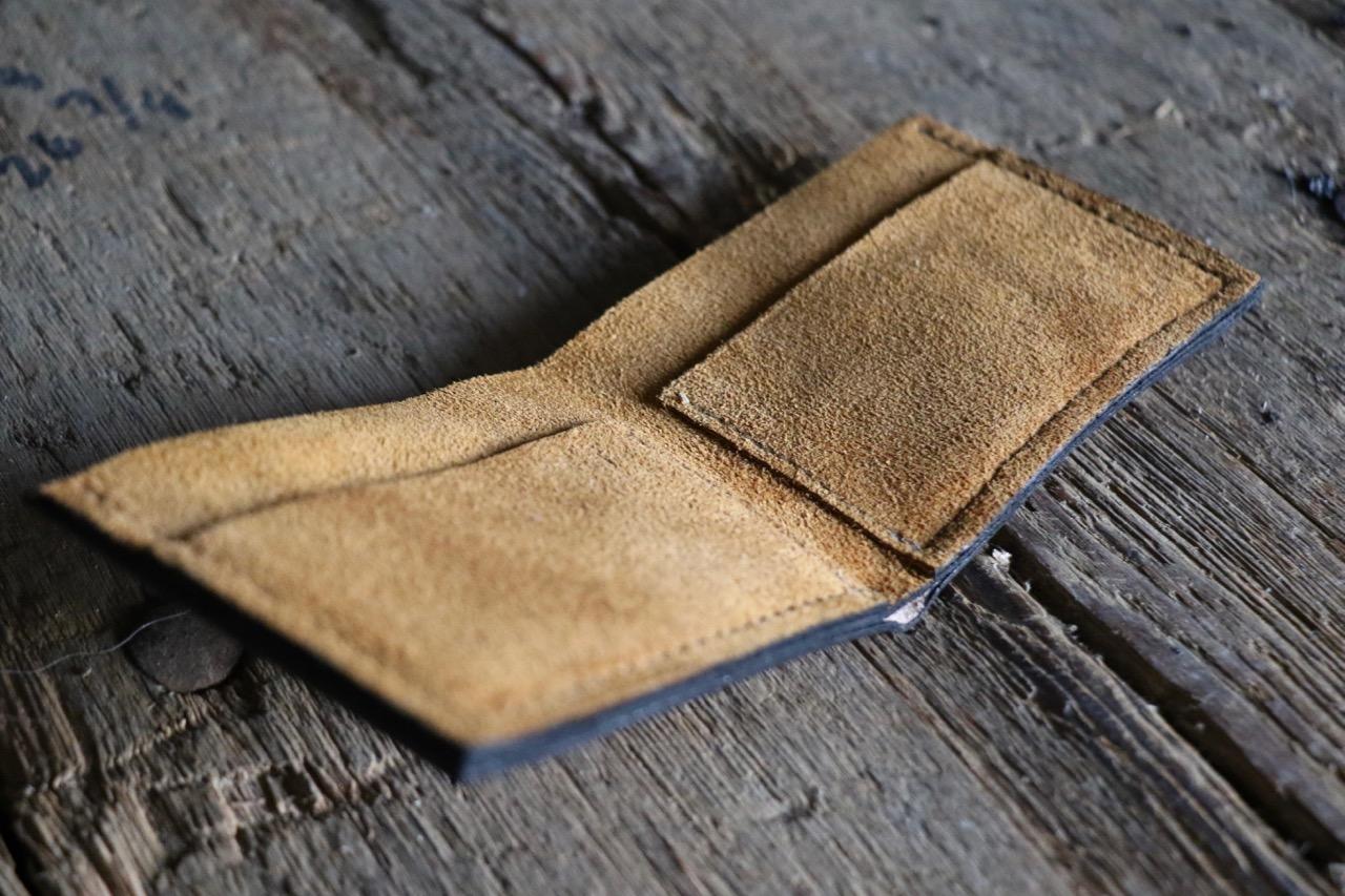 Bi-Fold Leather Wallet by Linny Kenney