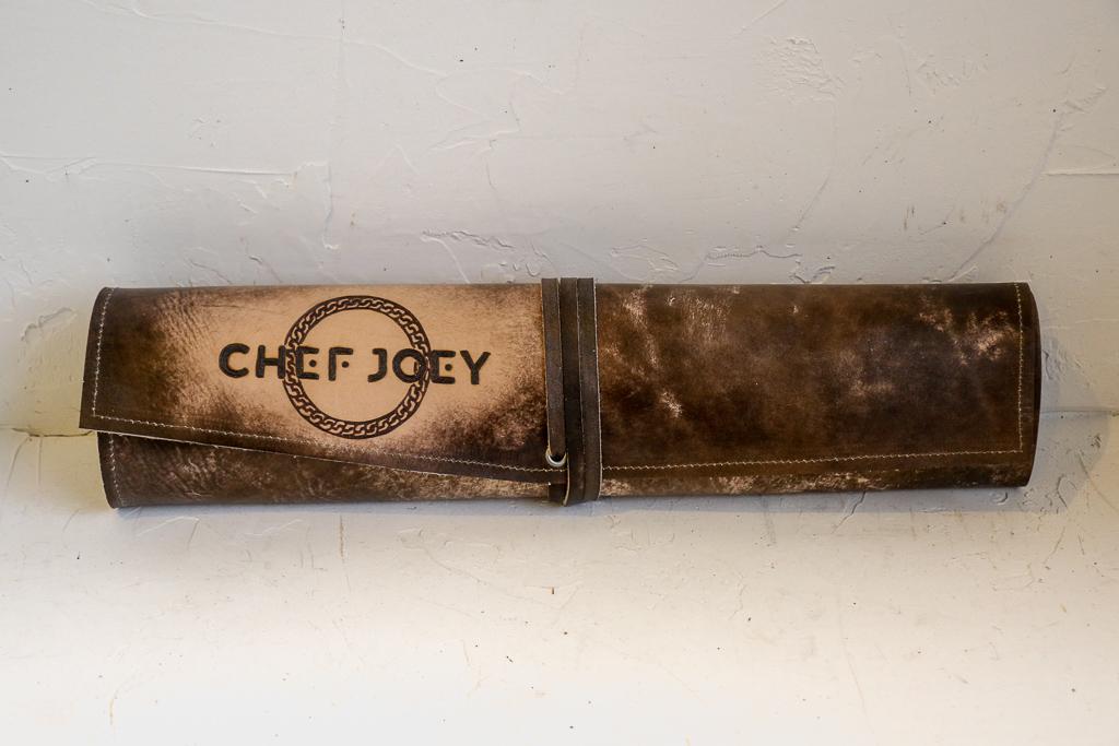 Chef Joey Knife Wrap by Linny Kenney