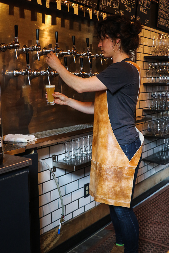 Leather Japanese Apron  Bar Tender's Leather Apron
