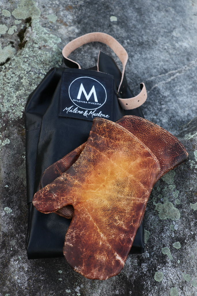 leather oven mitts