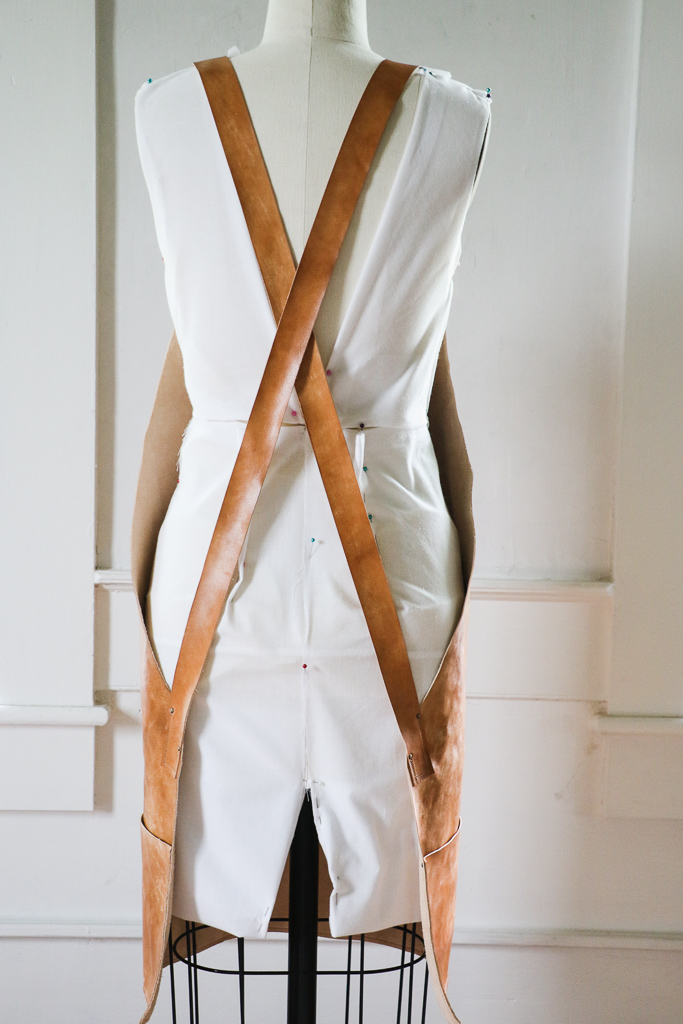 Butcher's Leather Apron by Linny Kenney