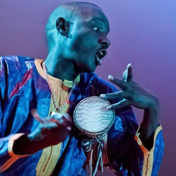 Senegalese Master Drummer Massamba Diop