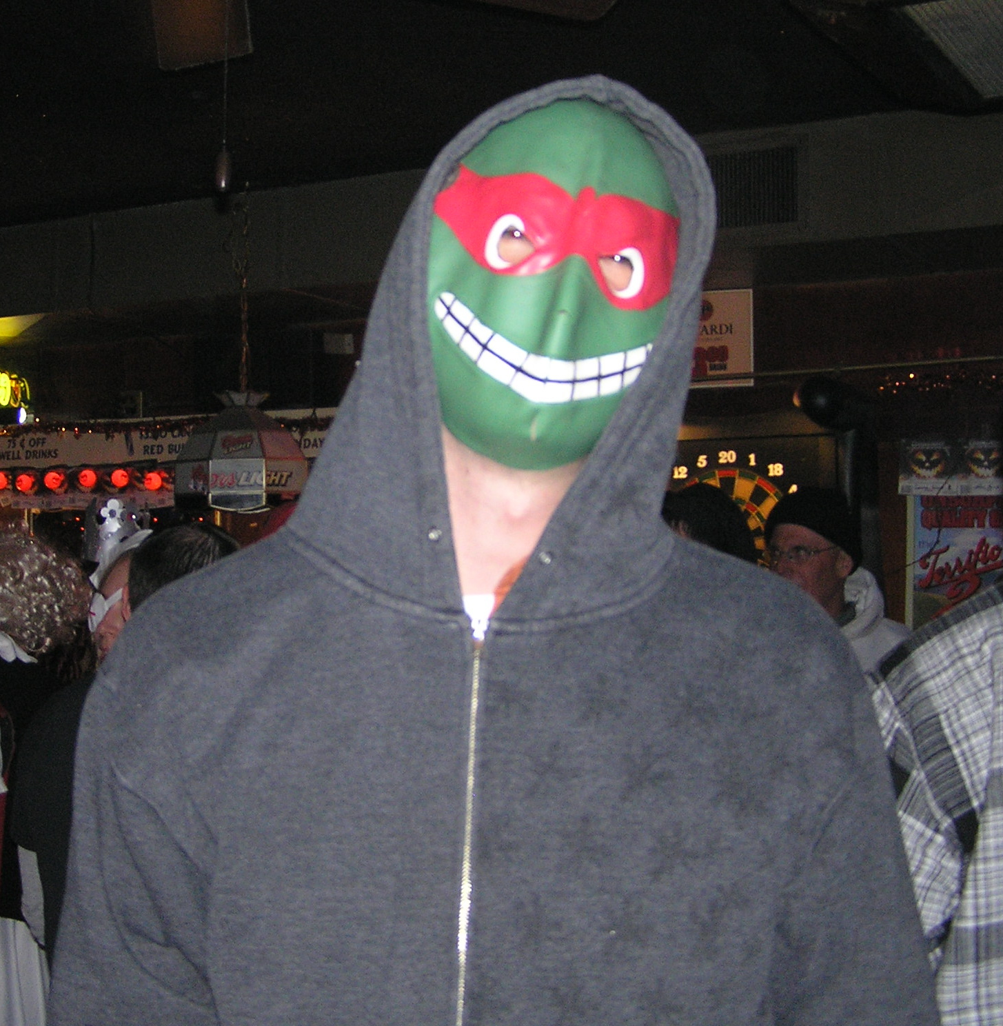 Chef Boy loves the Bitches no matter what. They love him despite the world's worst TMNT costume.