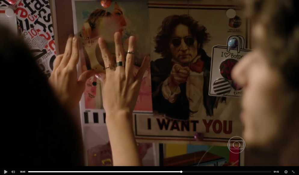 THE POSTERS BECAME PART OF THE PERMANENT SCENARIO OF A FAMOUS SOAP OPERA ON GLOBO TV, MAKING THOUSANDS OF DOLLARS IN EARNED MEDIA.