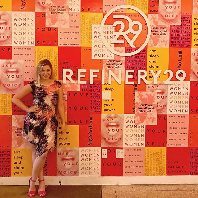 New job, who dis?!✨ Today I started a new journey as a creative lead at @refinery29 for @29rooms : an immersive world of cause, culture, & creativity.💥 I have long admired the work of R29 to empower women to see, feel, and claim their power. 🙌 And now, I am beyondddd excited to bring my passion of creating artistic experiences & inspiring audiences to feel to this incredible company. 💗 . . . #newbeginnings #excited #artistlife #creative #livecolorfully #r29 #refinery #workhard #playhard #lovewhatyoudo #makemagic #29rooms