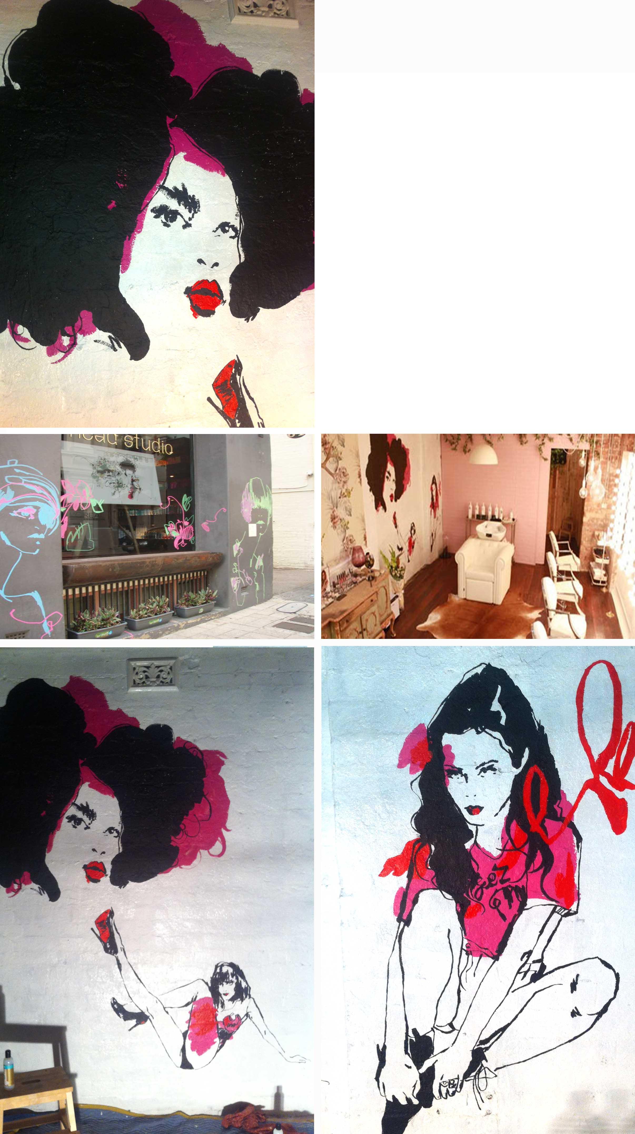 Headstudio Mural Rebecca Wetzler