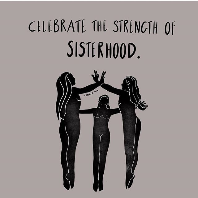 Let go of your ego and genuinely celebrate one another 💓 — #sisterhood #divinefeminine #soulbuilding #soulconnection #womanhood