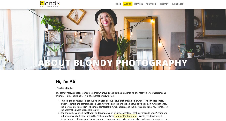 Blondy Photography -