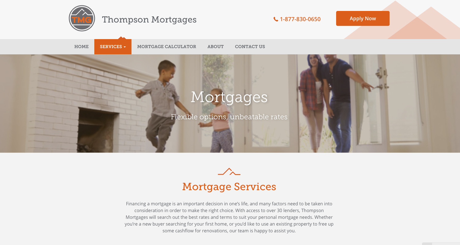 Thompson Mortgages -