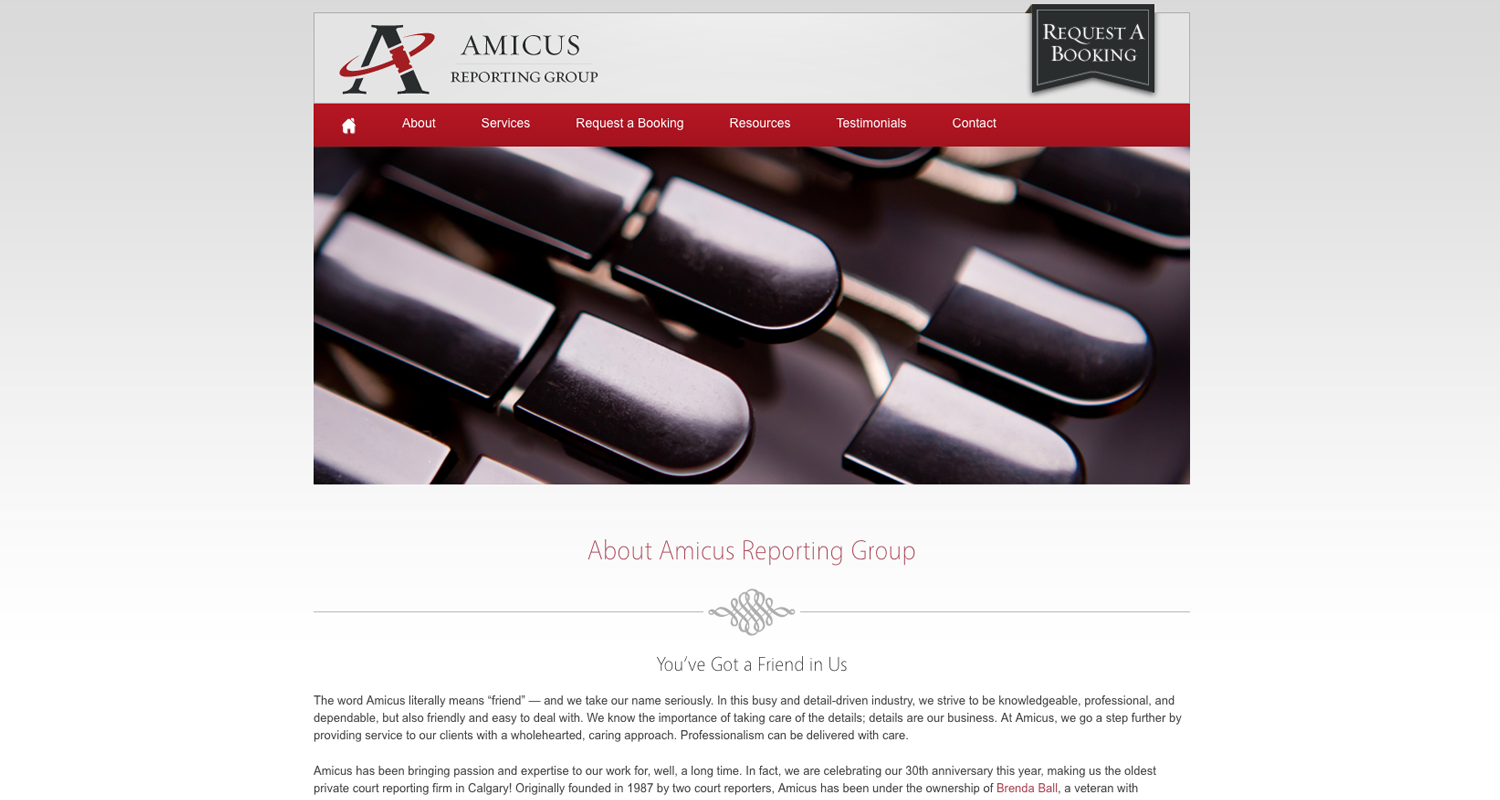 Amicus Reporting -