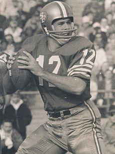 John R. Brodie<br />(NFL MVP)