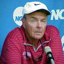 Dick Gould<br />(17x champion Stanford Tennis Coach)