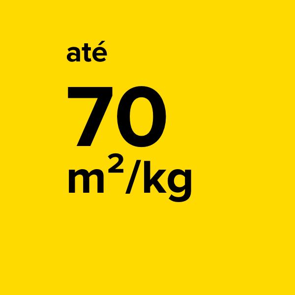 ELEVADO RENDIMENTO - Com 1 kg de BLOKFORMA PLÁSTICOS é possível cobrir até 70 metros quadrados de superfície plástica.