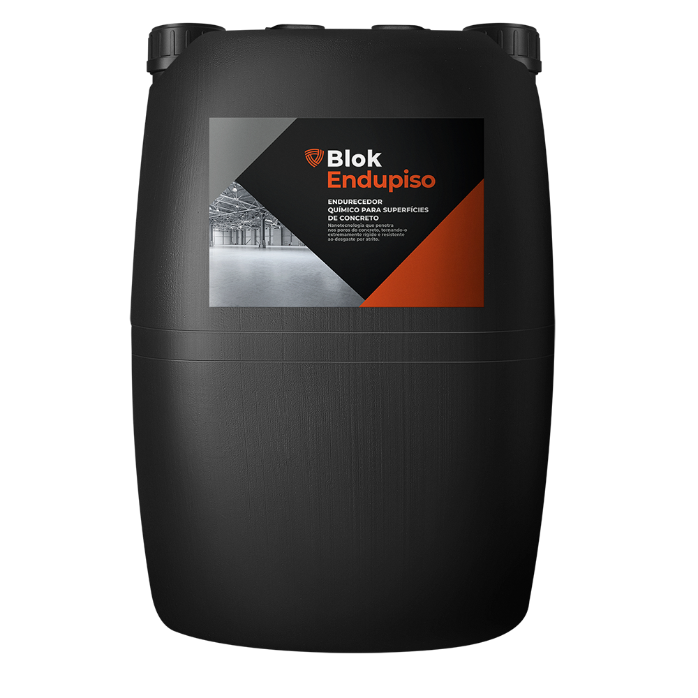 ENDUPISO -  Endurecedor superficial para piso de concreto.   Embalagem   :     25 Litros   Ideal para:  Piso de concreto polido.   Rendimento:  1 litro para 6 a 10 m².