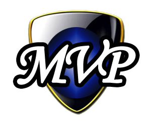 I'm just including this logo for MVP (used until  2012 !) to show that things  are  getting markedly better for design in the e-sports world!
