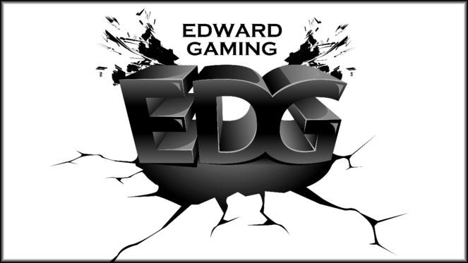 EDward Gaming - a pro team which has won over 2 million in prize money since 2014 - has a complicated and kind of uninspired logo. (A gym I used to work for had one very similar, actually!) It doesn't convey much of anything about the team. It could make a cool video intro animation though.