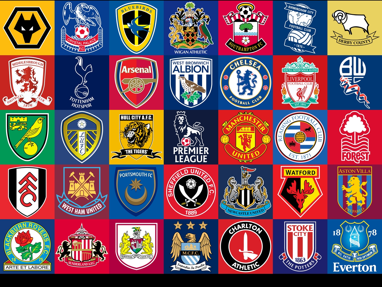 Premier League Soccer Logos