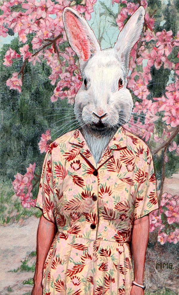 "Rae Rabbit - 4"" x 6.5"""
