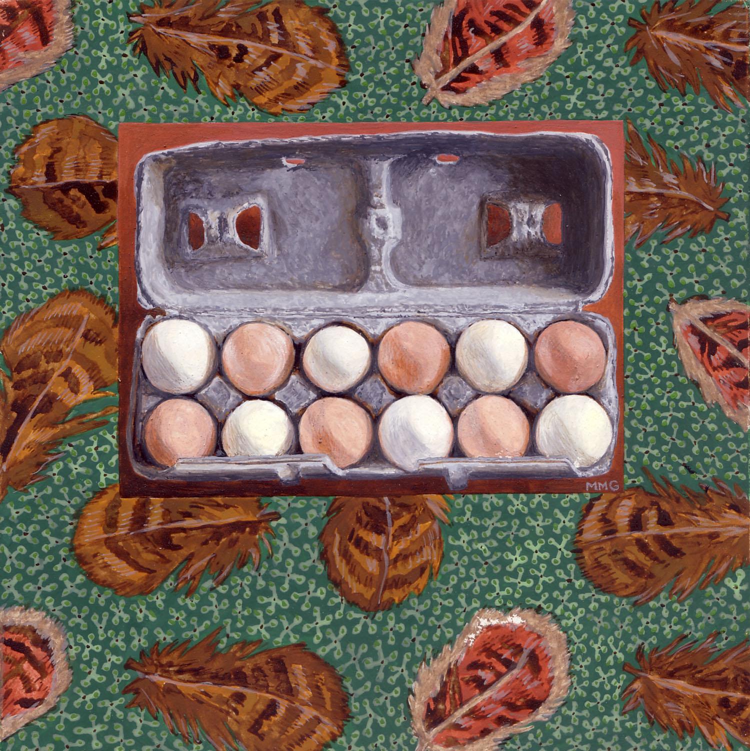 """Eggs - 6"""" x 6"""""""