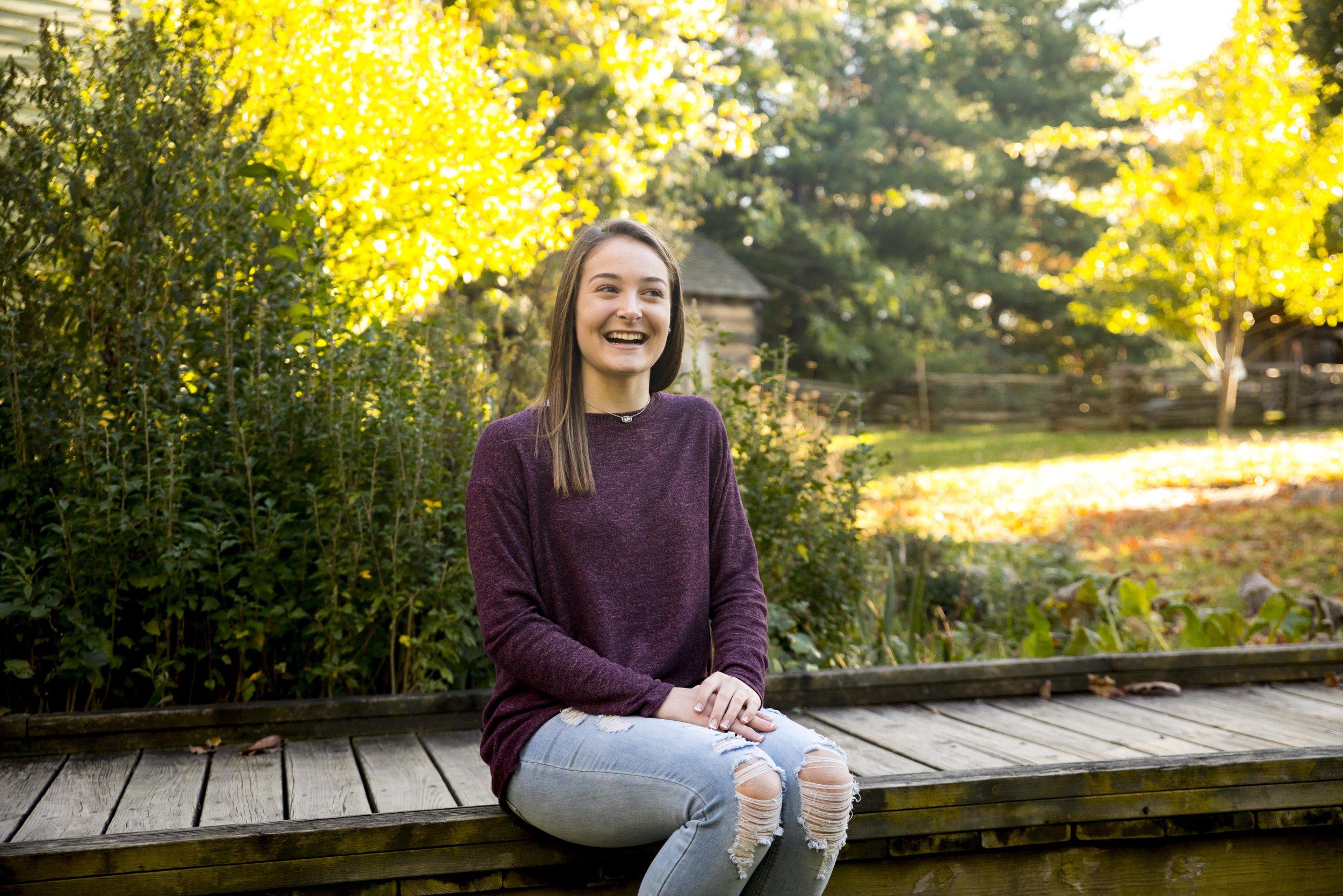 Faust Park Senior Portrait Photo 12