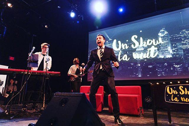 Un show la nuit aux RVQC 2019! Merci encore @quebeccinema ! ✌🏻