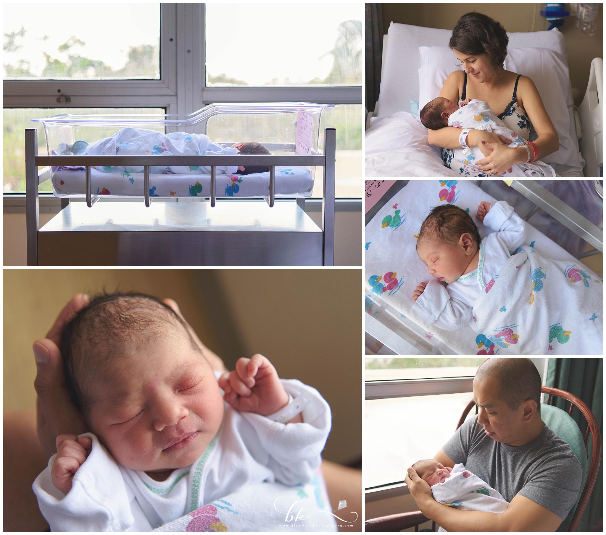 Fresh 48 hospital newborn session Boca Raton, FL
