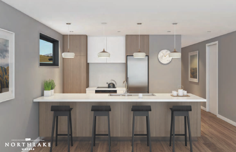 Hillend Kitchen Render by Northlake