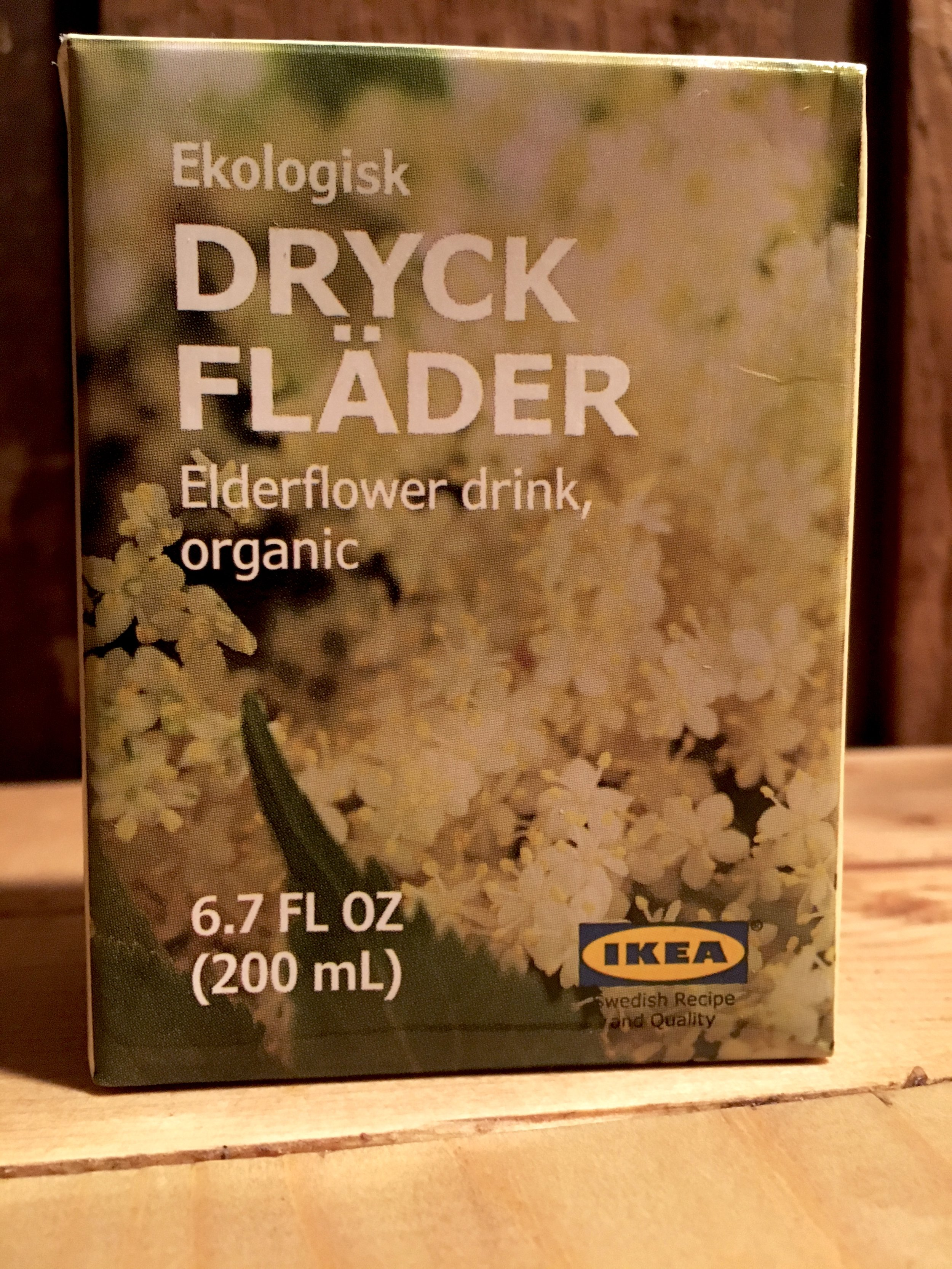 The Norwegians are onto something… A dear friend bought me a gift from Ikea…nothing other than an Elderflower juice box! By drinking elderflower tea or perhaps concentrate, it will help your overall health. Elderflower has many antioxidants that increase eye health, respiratory health and cardiovascular health.