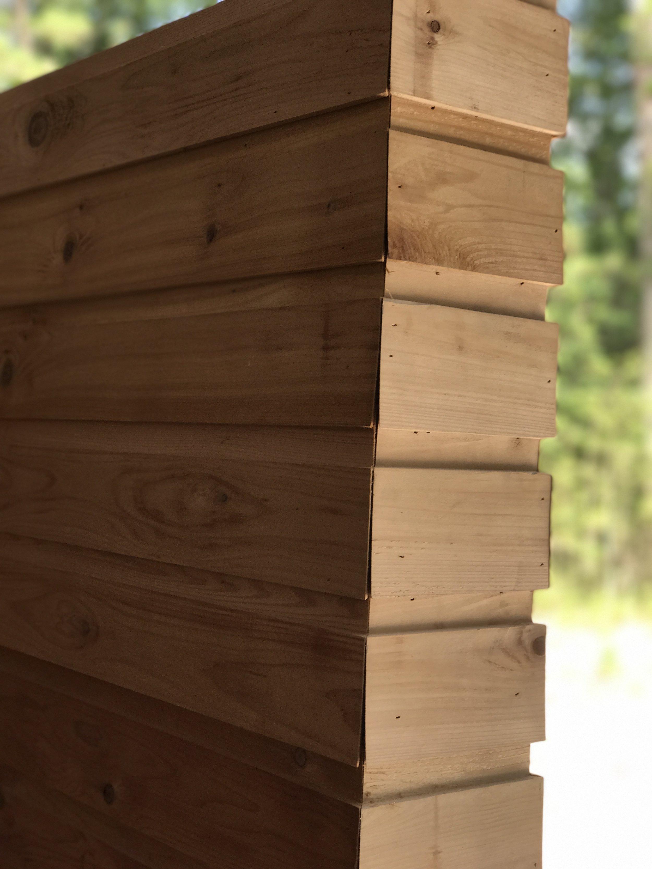 Modern Materials Cedar Lap and Gap Siding