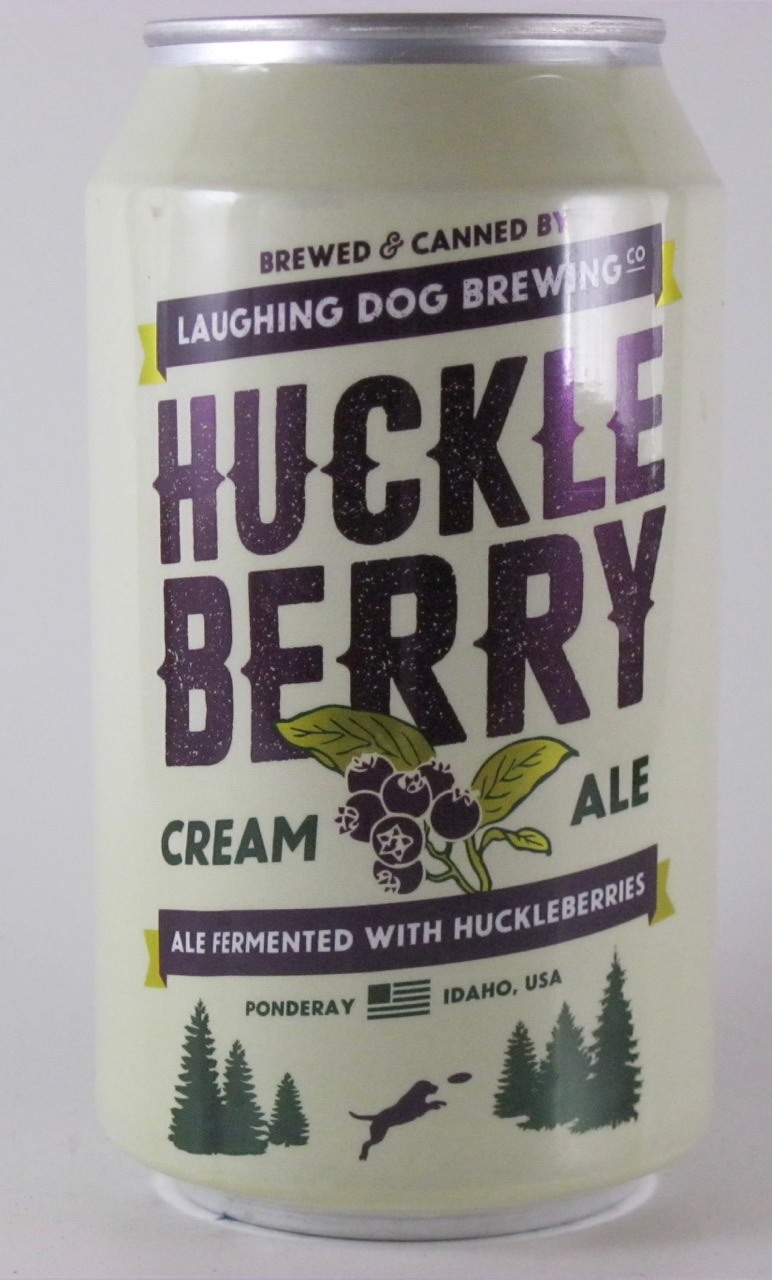 Laughing Dog - Huckle Berry Cream Ale