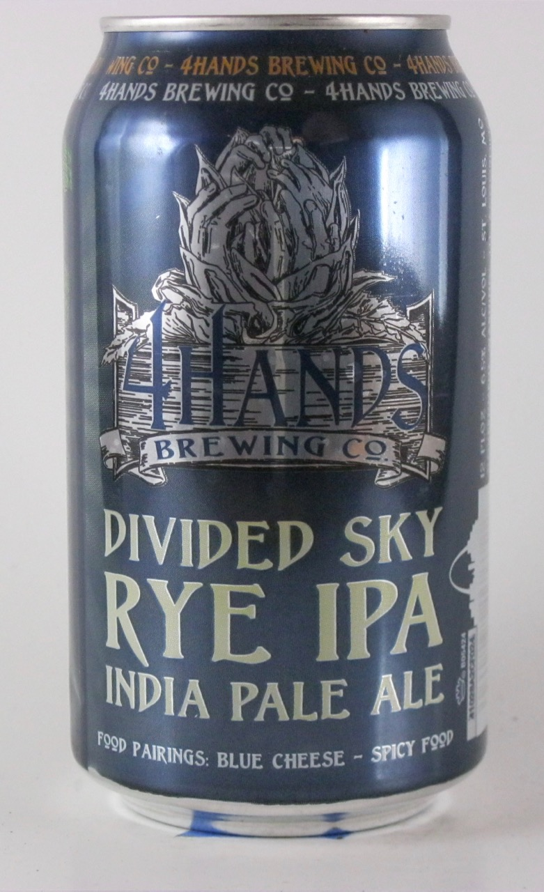 4 Hands - Divided Sky Rye IPA