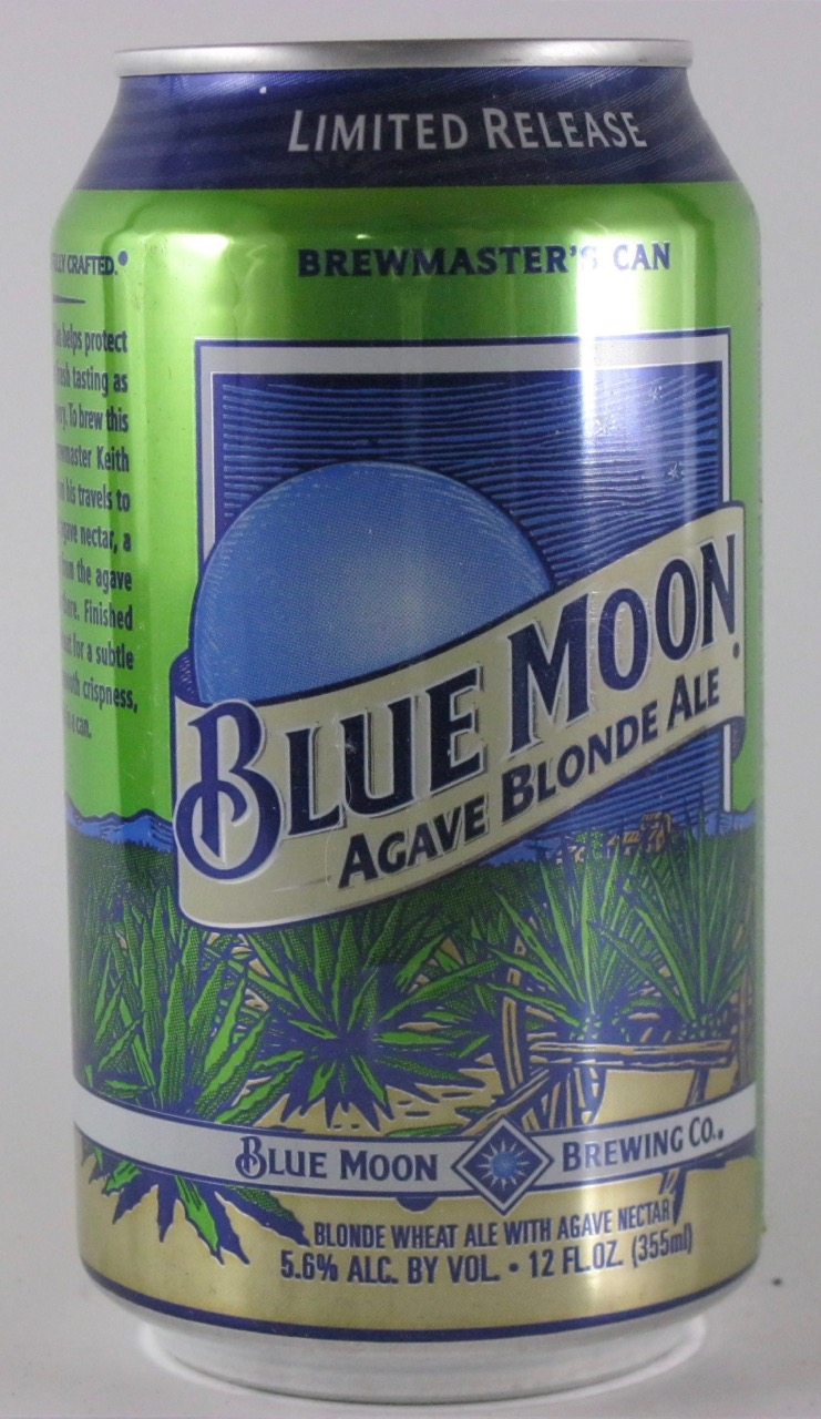 Blue Moon - Agave Blonde Ale