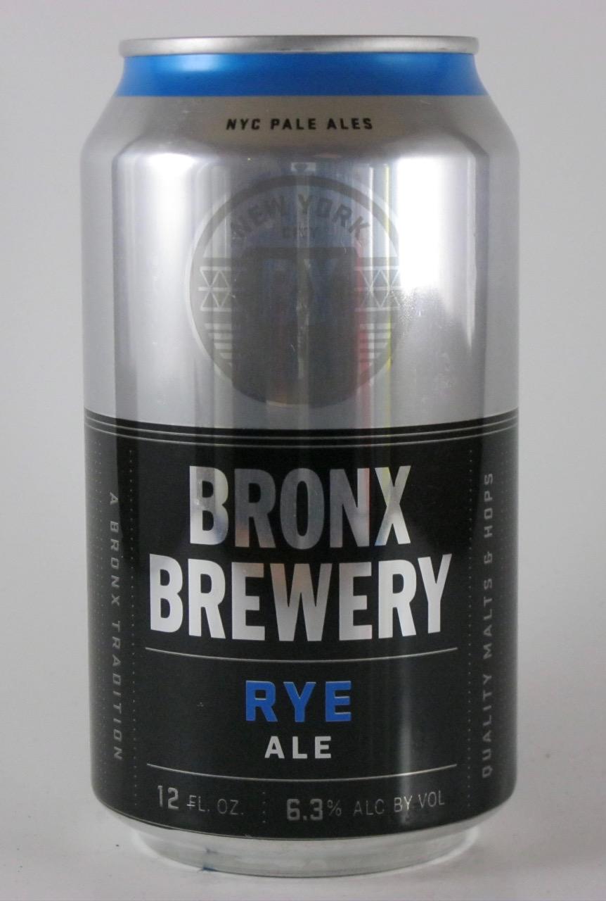 Bronx - Bronx Rye Ale