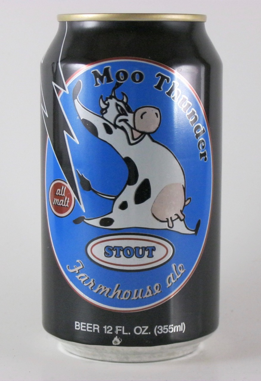 Butternuts - Moo Thunder Stout Farmhouse Ale