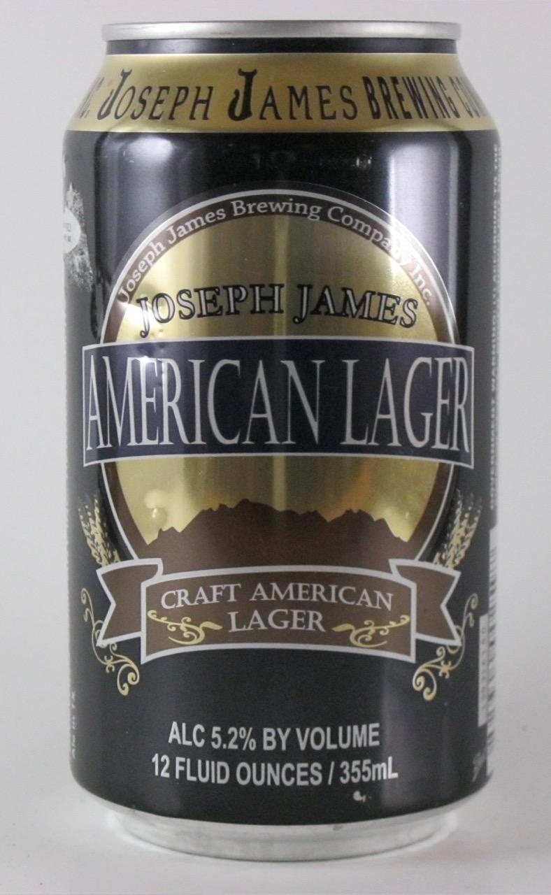 Joseph James - American Lager